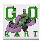 Go Kart Adult Tile Coaster