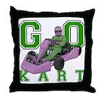 Go Kart Adult Throw Pillow