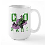 Go Kart Adult Large Mug