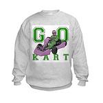 Go Kart Adult Kids Sweatshirt
