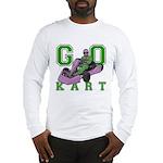 Go Kart Adult Long Sleeve T-Shirt
