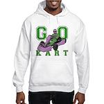 Go Kart Adult Hooded Sweatshirt