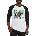 Go Kart Adult Baseball Jersey