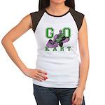 Go Kart Adult Women's Cap Sleeve T-Shirt