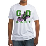 Go Kart Adult Fitted T-Shirt
