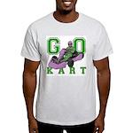 Go Kart Adult Light T-Shirt