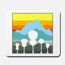 Mountain Music Mousepad