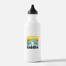 Mountain Music Water Bottle