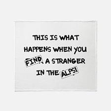 BL: Censored Throw Blanket