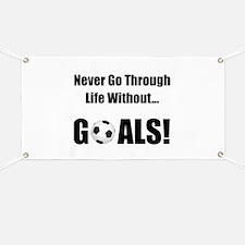 Soccer Goals Banner