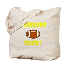 Steelers Suck Tote Bag