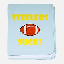 Steelers Suck baby blanket