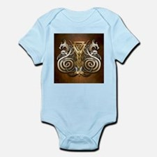 Norse Valknut Dragons Body Suit