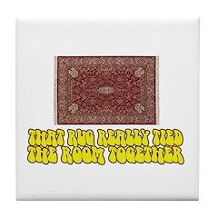 BL: Rug Tile Coaster