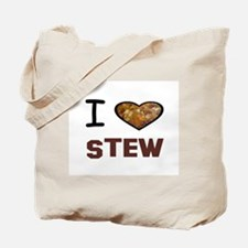 Funny I heart meat Tote Bag
