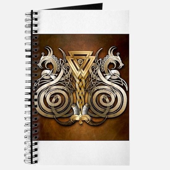 Norse Valknut Dragons Journal