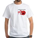 tomato battle txt clear T-Shirt