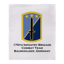 170th IBCT Germany Throw Blanket