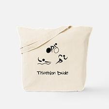 Triathlon Dude Tote Bag