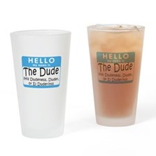BL: Hello Drinking Glass