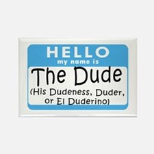 BL: Hello Rectangle Magnet (10 pack)