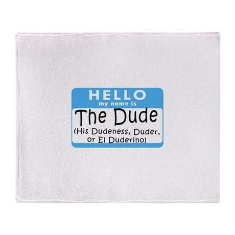 BL: Hello Throw Blanket