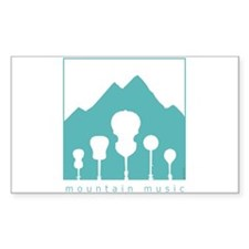 Mountain Music Decal