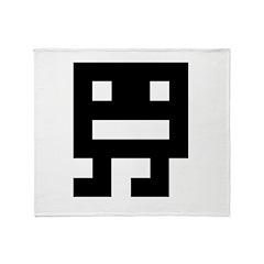 Video Game Monster 1 Throw Blanket