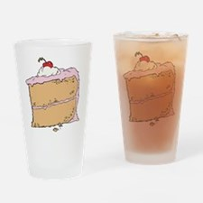 Cake or Death Drinking Glass