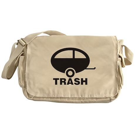 Trailor Trash Messenger Bag