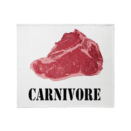 Carnivore Throw Blanket