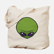The Visitor (Green) Tote Bag