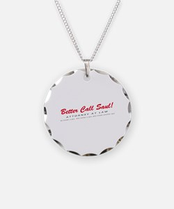 'Better Call Saul!' Necklace