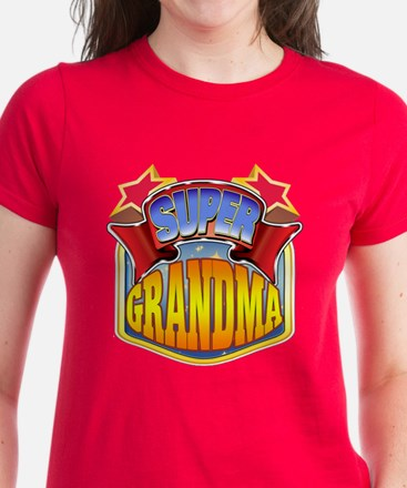 Super Grandma Women's Dark T-Shirt