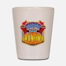 Super Grandma Shot Glass