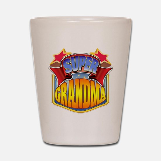 Super Grandma Shot Glass