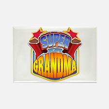 Super Grandma Rectangle Magnet