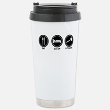 Cute Gavel Travel Mug