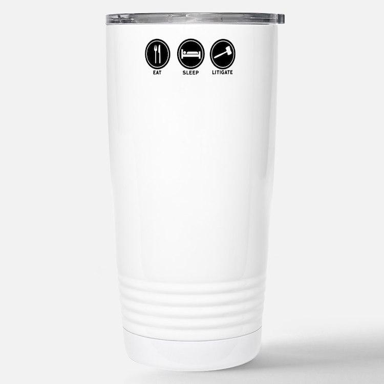 Cute Prosecute pedophiles Travel Mug