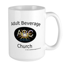 Adult Beverage Church Mug
