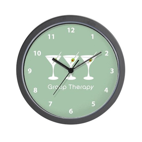 Group Therapy Wall Clock