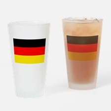 German Flag Drinking Glass