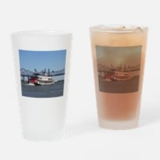 Cute Steamboat Drinking Glass
