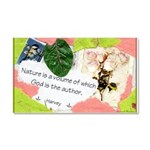 Nature Quote Collage Car Magnet 20 x 12