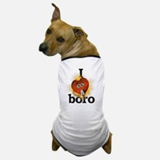 I heart / love boro Dog T-Shirt