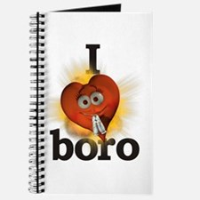 I heart / love boro Journal