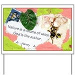 Nature Quote Collage Yard Sign