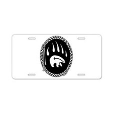 Tribal Art Licence Plate First Nations Art Gifts