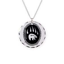 Tribal Art Necklace First Nations Charm Necklace