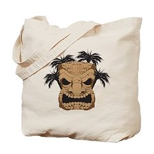 Wicked Tiki Carving Tote Bag